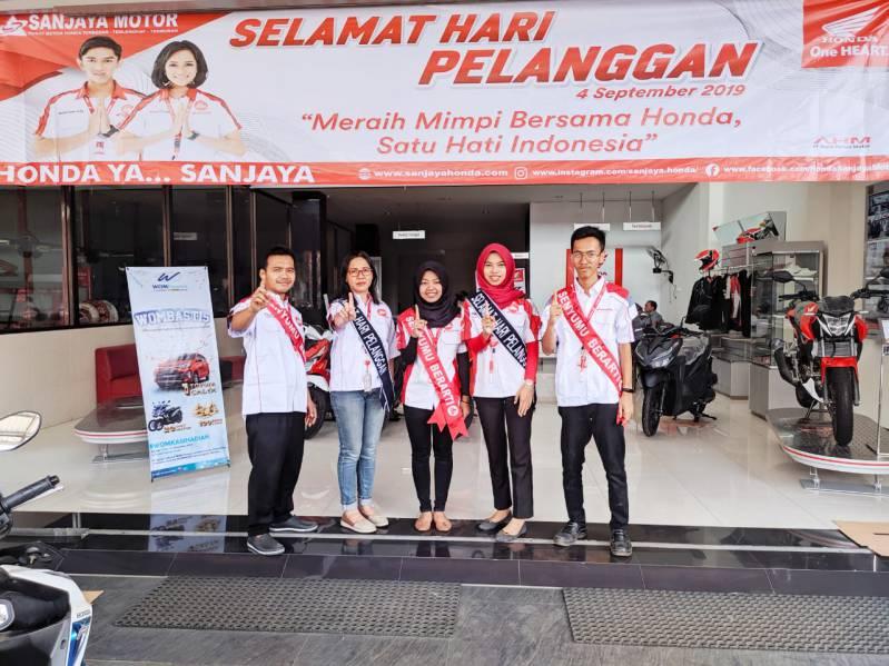 Sanjaya Purwokerto Hari Pelanggan Nasional   Dealer Motor
